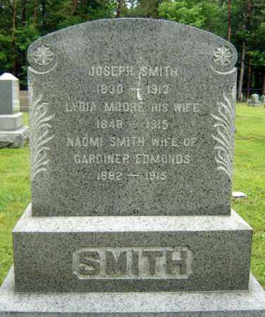 SMITH, JOSEPH - Saratoga County, New York | JOSEPH SMITH - New York Gravestone Photos