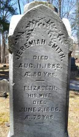 SMITH, ELIZABETH - Saratoga County, New York | ELIZABETH SMITH - New York Gravestone Photos