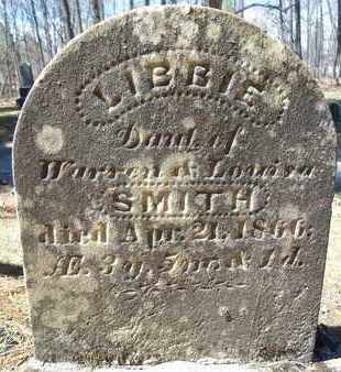 SMITH, LIBBIE - Saratoga County, New York | LIBBIE SMITH - New York Gravestone Photos