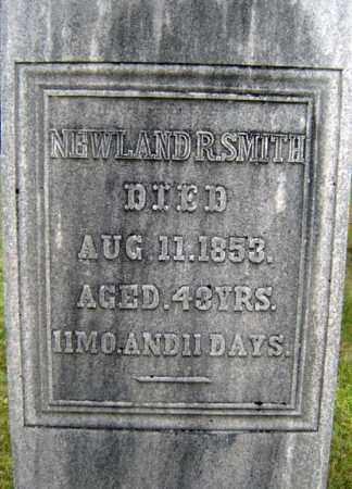 SMITH, NEWLAND R - Saratoga County, New York | NEWLAND R SMITH - New York Gravestone Photos