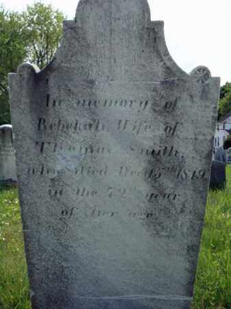 SMITH, REBEKAH - Saratoga County, New York | REBEKAH SMITH - New York Gravestone Photos