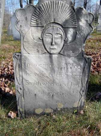 SMITH, RHODA - Saratoga County, New York   RHODA SMITH - New York Gravestone Photos