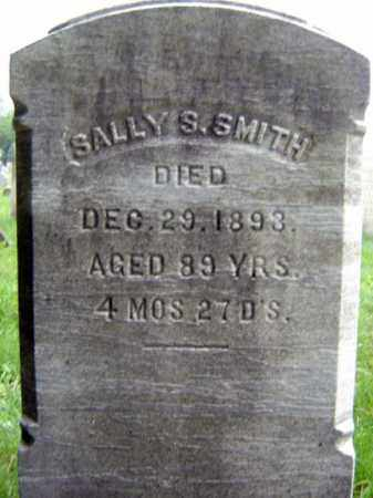 SMITH, SALLY S - Saratoga County, New York   SALLY S SMITH - New York Gravestone Photos