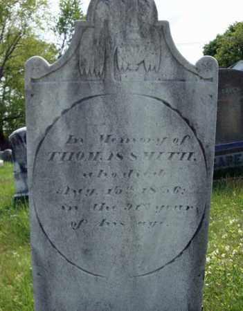 SMITH, THOMAS - Saratoga County, New York   THOMAS SMITH - New York Gravestone Photos