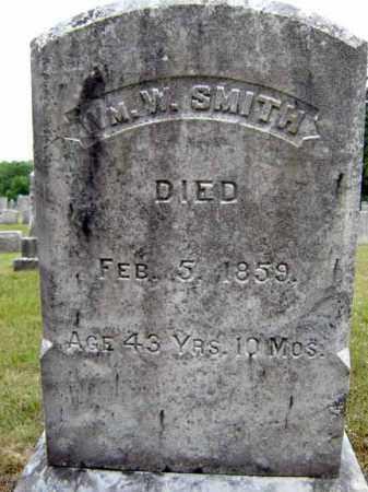 SMITH, WILLIAM W - Saratoga County, New York | WILLIAM W SMITH - New York Gravestone Photos