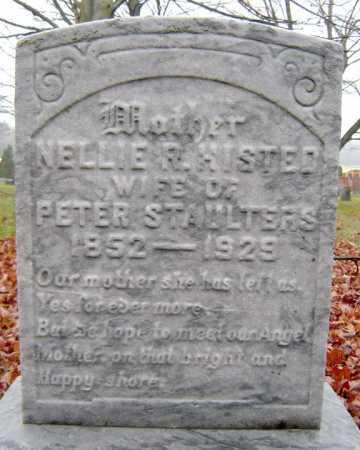 STAULTERS, NELLIE R - Saratoga County, New York   NELLIE R STAULTERS - New York Gravestone Photos