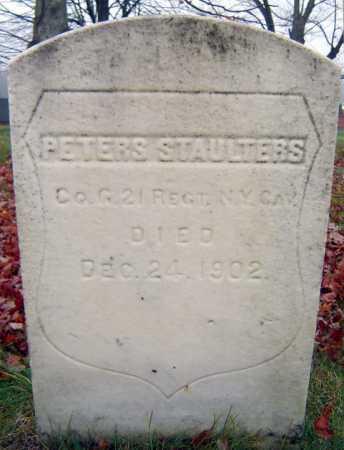 STAULTERS, PETER - Saratoga County, New York   PETER STAULTERS - New York Gravestone Photos