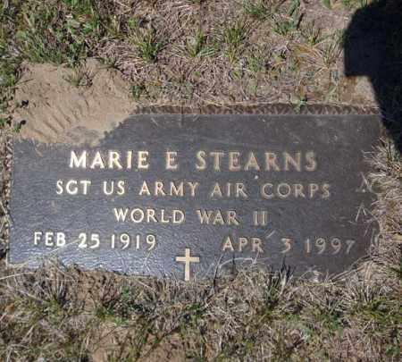 STEARNS (WWII), MARIE E - Saratoga County, New York | MARIE E STEARNS (WWII) - New York Gravestone Photos