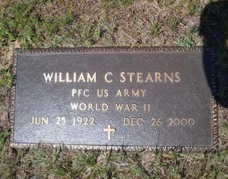 STEARNS, WILLIAM C - Saratoga County, New York | WILLIAM C STEARNS - New York Gravestone Photos