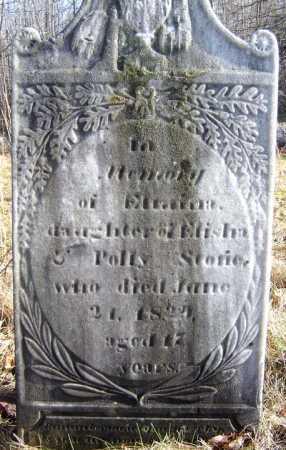 STORIE, ELMINA - Saratoga County, New York   ELMINA STORIE - New York Gravestone Photos