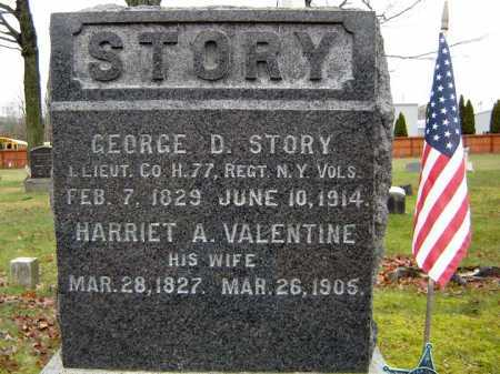 STORY, HARRIET A - Saratoga County, New York   HARRIET A STORY - New York Gravestone Photos