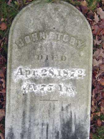 STORY (1812), JOHN - Saratoga County, New York | JOHN STORY (1812) - New York Gravestone Photos