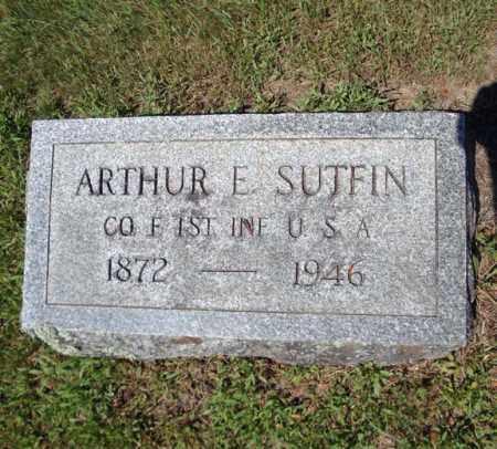 SUTFIN, ARTHUR E - Saratoga County, New York | ARTHUR E SUTFIN - New York Gravestone Photos