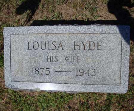 HYDE, LOUISA - Saratoga County, New York | LOUISA HYDE - New York Gravestone Photos