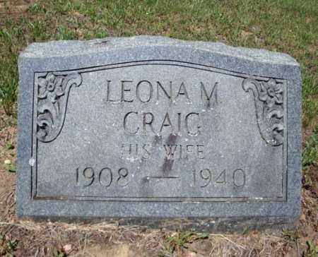 CRAIG, LEONA M - Saratoga County, New York | LEONA M CRAIG - New York Gravestone Photos