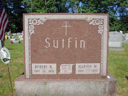 SUTFIN, MARION M - Saratoga County, New York | MARION M SUTFIN - New York Gravestone Photos