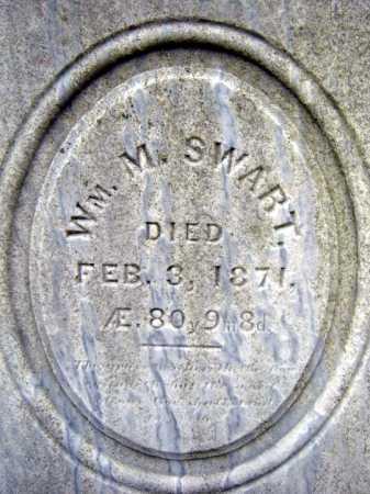 SWART, WILLIAM M - Saratoga County, New York | WILLIAM M SWART - New York Gravestone Photos