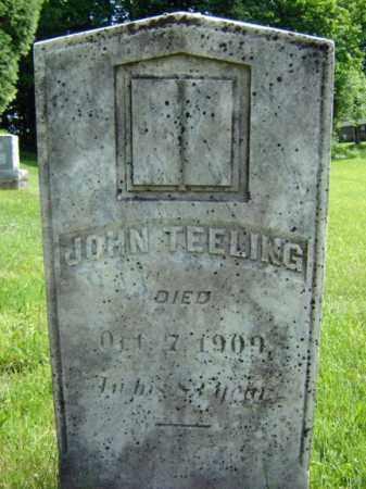 TEELING, JOHN - Saratoga County, New York | JOHN TEELING - New York Gravestone Photos