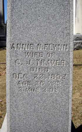FLYNN, ANNIE N - Saratoga County, New York | ANNIE N FLYNN - New York Gravestone Photos