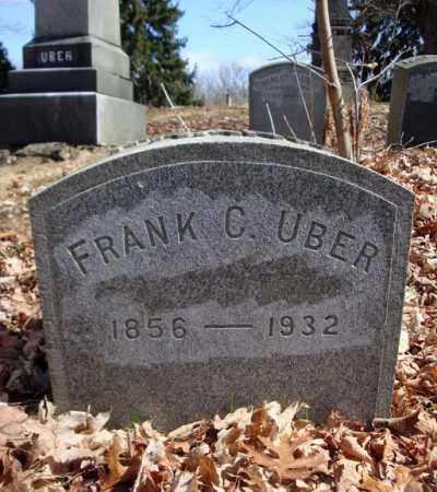 UBER, FRANK C - Saratoga County, New York   FRANK C UBER - New York Gravestone Photos
