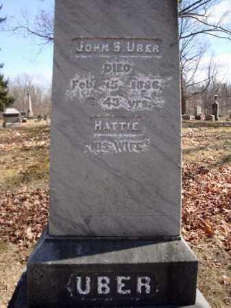 UBER, JOHN S - Saratoga County, New York | JOHN S UBER - New York Gravestone Photos