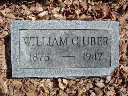 UBER, WILLIAM C - Saratoga County, New York | WILLIAM C UBER - New York Gravestone Photos