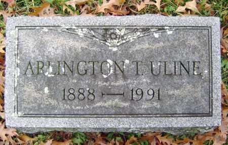 ULINE, ARLINGTON - Saratoga County, New York | ARLINGTON ULINE - New York Gravestone Photos