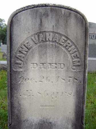 VAN AERNEM, JANE - Saratoga County, New York   JANE VAN AERNEM - New York Gravestone Photos