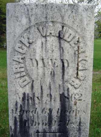 VAN DERKARR, DIRACK - Saratoga County, New York | DIRACK VAN DERKARR - New York Gravestone Photos