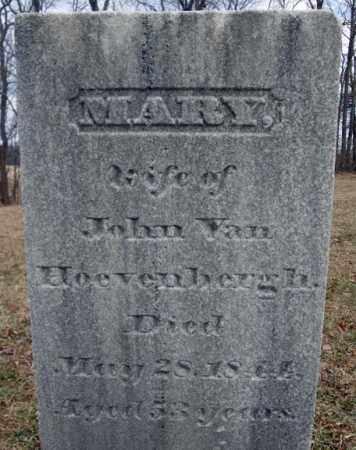 VAN HOEVENBERGH, MARY - Saratoga County, New York | MARY VAN HOEVENBERGH - New York Gravestone Photos