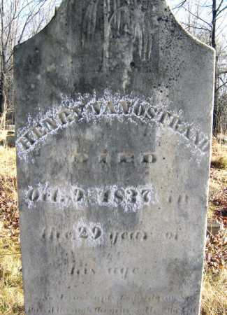 VAN OSTRAND, HENRY - Saratoga County, New York   HENRY VAN OSTRAND - New York Gravestone Photos