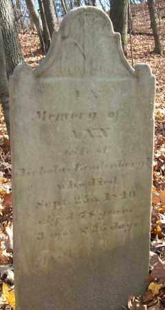 VANDENBURGH, ANN - Saratoga County, New York   ANN VANDENBURGH - New York Gravestone Photos