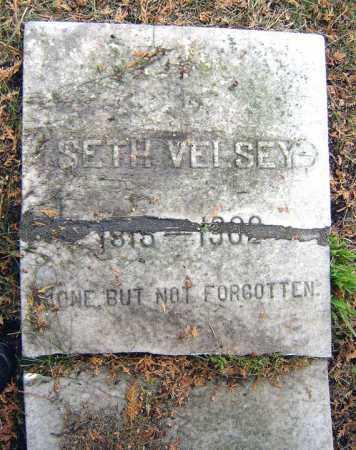VELSEY, SETH - Saratoga County, New York | SETH VELSEY - New York Gravestone Photos