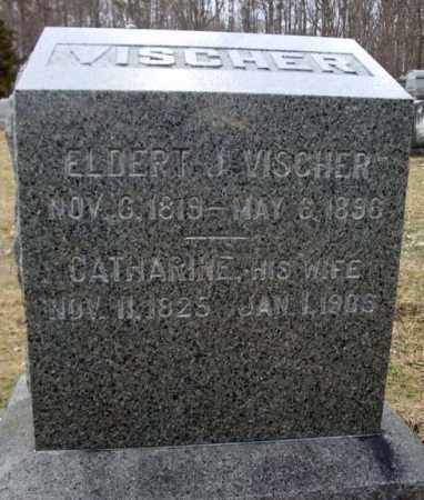 VISCHER, CATHARINE - Saratoga County, New York | CATHARINE VISCHER - New York Gravestone Photos