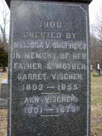 VISCHER, ANN - Saratoga County, New York | ANN VISCHER - New York Gravestone Photos