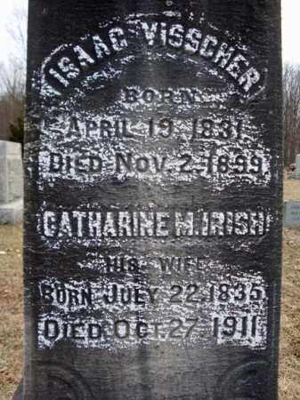 VISSCHER, CATHARINE M - Saratoga County, New York | CATHARINE M VISSCHER - New York Gravestone Photos