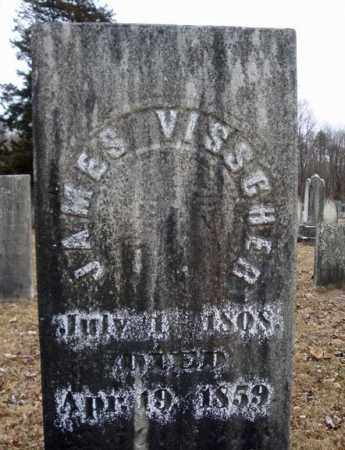 VISSCHER, JAMES - Saratoga County, New York | JAMES VISSCHER - New York Gravestone Photos