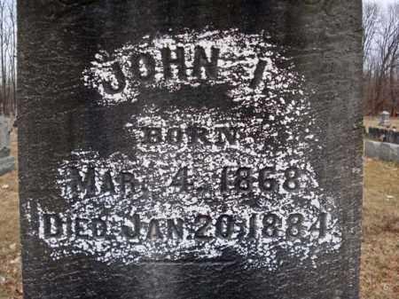 VISSCHER, JOHN I - Saratoga County, New York | JOHN I VISSCHER - New York Gravestone Photos