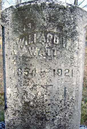 WAIT, WILLARD H - Saratoga County, New York | WILLARD H WAIT - New York Gravestone Photos