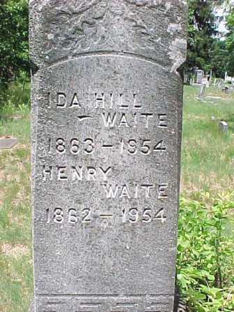 WAITE, HENRY - Saratoga County, New York | HENRY WAITE - New York Gravestone Photos