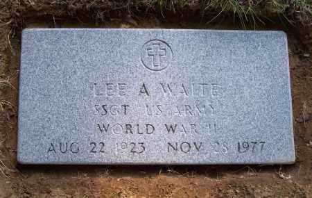 WAITE, LEE A - Saratoga County, New York | LEE A WAITE - New York Gravestone Photos