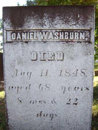 WASHBURN, DANIEL - Saratoga County, New York | DANIEL WASHBURN - New York Gravestone Photos