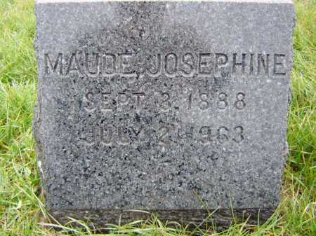 WASHBURN, MAUDE JOSEPHINE - Saratoga County, New York | MAUDE JOSEPHINE WASHBURN - New York Gravestone Photos
