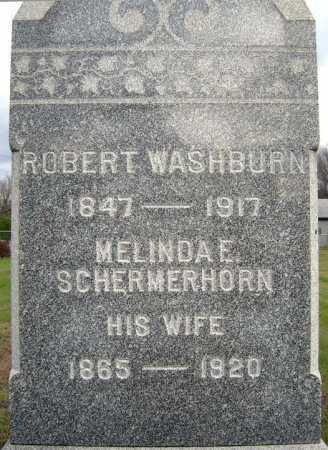 WASHBURN, MELINDA E - Saratoga County, New York | MELINDA E WASHBURN - New York Gravestone Photos