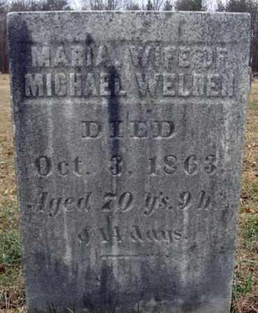 WELDEN, MARIA - Saratoga County, New York | MARIA WELDEN - New York Gravestone Photos