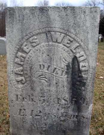 WELDON, JAMES - Saratoga County, New York | JAMES WELDON - New York Gravestone Photos