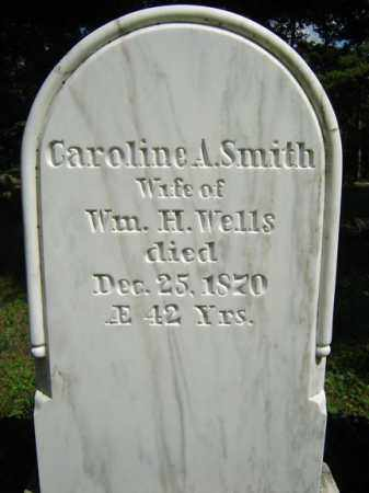 SMITH, CAROLINE A - Saratoga County, New York | CAROLINE A SMITH - New York Gravestone Photos
