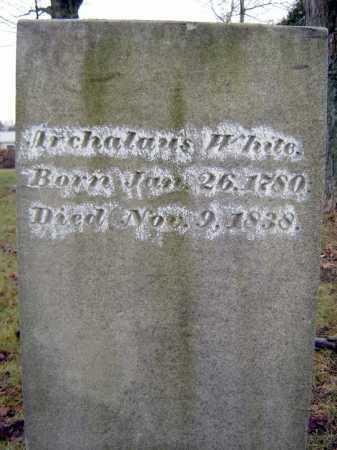 WHITE, ARCHALAUS - Saratoga County, New York | ARCHALAUS WHITE - New York Gravestone Photos