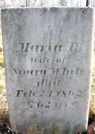 WHITE, MARIA R - Saratoga County, New York | MARIA R WHITE - New York Gravestone Photos