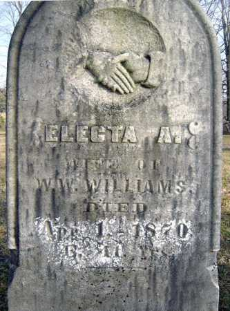 WILLAMS, ELECTA A - Saratoga County, New York | ELECTA A WILLAMS - New York Gravestone Photos